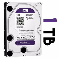 Disco Rigido Western Digital 1tb Purple Ideal Dvr Seguridad