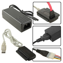 Cable Adaptador Usb A Sata / Ide - Discos Pc/notebook/grab