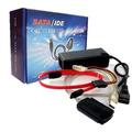 Cable Adaptador Usb A Ide/sata C/fuente -discos Pc Notebook-