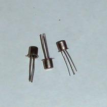 Transistor Bf200 Npn Metálico De Silicio
