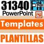 31.340 Powerpoint Templates Plantillas Diseños Power Point
