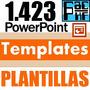 1.423 Powerpoint Templates Plantillas Diseños Power Point