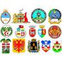 Coleccion 7000 Banderas Y Escudos Vectorizados Todo El Mundo