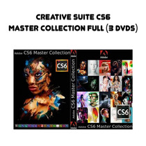 Adobe Creative Suite Cs6 Master Collection Full Pc (3 Dvds)