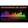 Programas Audio Win   Mac - Daw Kontak Plugins Vst Samples