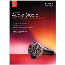 Sony Soundforge Audio Studio 10