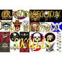 Coleccion 490 Vectores Skulls Calaveras Primera Calidad