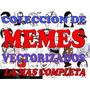 Memes Diseños Vectores Estampado Serigrafia Sublimado Textil