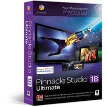 Pinnacle Studio 18 V2015 Ultimate Incluye Efectos 5 Dvds