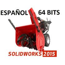 Solid Works Premium 2015 Español +8000 Bloques+¡curso! Nuevo