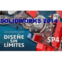 Solidworks Premium 2014 Sp5 Español +8000 Bloques+¡curso!