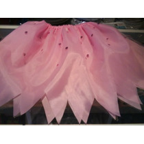 Disfraz Pollerita Mariposa Bruja Hada Adulto Halloween Tutu