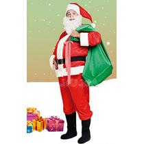 Disfraz Papa Noel Adulto Completo! Original Candela Jiujim