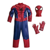 Disfraz Spiderman- Hombre Araña Original -disney Store- 5/6