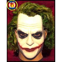 Máscara Guasón Para Disfraz, The Jocker, Batman, Halloween!
