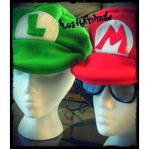 Gorros De Mario Bros Y/ O Luigui