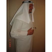 Disfraz Arabe Tunica Y Turbante En Algodon Y Poliester