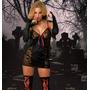 Disfraz Vampiresa Sexy De Lujo Adulto