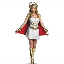 Disfraz Mujer She-ra Disfraces Mujer Vestido + Capa