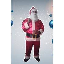 Disfraz Papa Noel - Oferta ! Completo !! Excelente Calidad.