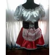 Disfraz Caperucita Roja-mujer Maravillas-abejita -pirata