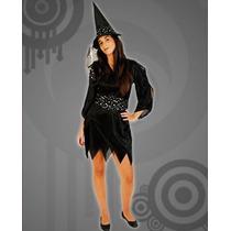 Disfraz De Bruja Halloween Incluye Gorro