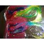 Pelucas Largas Con Flequillo De Cotillon Multicolor