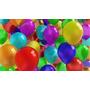 Globos Lisos X 25 Un. Cumpleaños Exelente Calidad