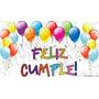 Globos Feliz Cumpleaños Surtidos X 25 Un. Exelente Calidad