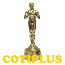 Adorno Trofeo Estatuilla Plastica Souvenir Simil Oscar