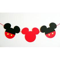 Banderin Mickey Y Minnie