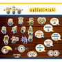 20 Props Photo Booth Minions - Cumpleaños Infantil Souvenirs