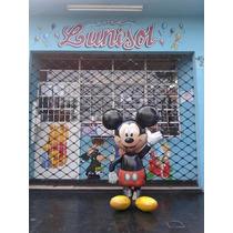 Globo Metalizado Caminante Mickey