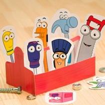 Caja Herramientas Imprimible Handy Manny Manos A La Obra