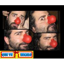 Clown Nose De Latex, Nariz Profesional, Payaso, Circo Teatro
