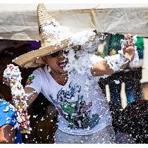 Pack Nieve Artificial Para Cotillón X12 Unid Carnaval Fiesta
