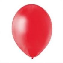 Globos Rojos Perlados 10 Pulgadas En Pack De 25 Unidades