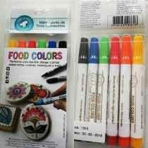 Marcadores Comestibles X 6 Food Colors - Pilar
