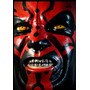 Latex Mask Darth Maul - Sith Lord, Star Wars, Cosplay, Force