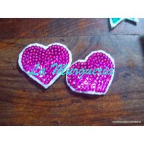 Aplique Lentejuelas Corazón Apliques Murgueros !!!