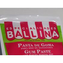 Pasta De Goma Ballina X500gs - Especialidades Ballina