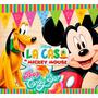 Kit Imprimible La Casa De Mickey Mouse **incluye Candy Bar*