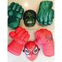Puños, Guantes Hombre Araña Y Hulk + Mascara De Regalo.