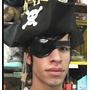 Parche Pirata Jack Sparrow Para Disfraz, Piratas Del Caribe