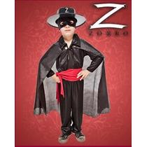 Disfraz De Zorro Niños Talles Del 2 Al 12