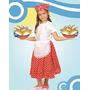 Disfraz De Negrita Vendedora De Empanadas Candombrera