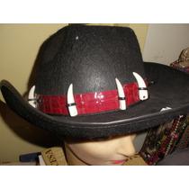Sombrero Cazador Con Colmillos Mercadopago