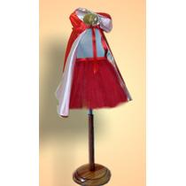 Disfraz Caperucita - Capa Forrada Y Tutú. Exclusivo - S -