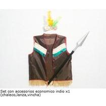 Set De Disfraz De Indio Disfraces Patrios