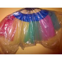 Disfraz De Bailarina Pollerita Tutu Varios Colores